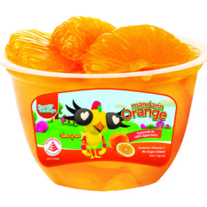 Sazzy Fruit Cups Nutritional Information